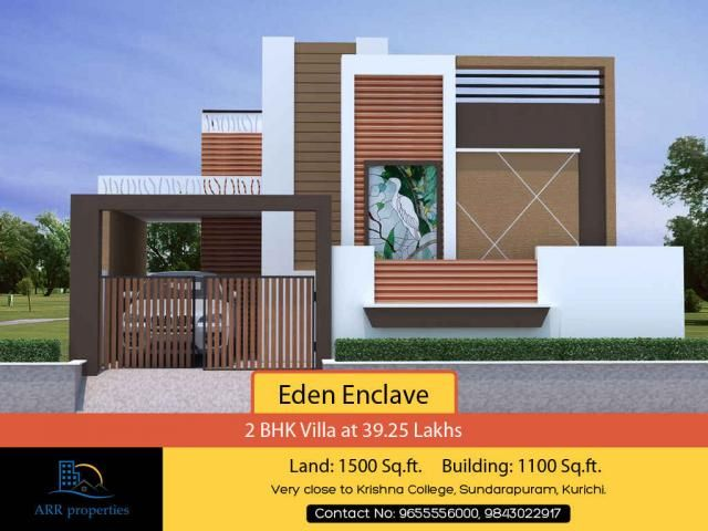 نتيجة بحث الصور عن House Elevation In Coimbatore With Images Small House Elevation Design Small House Elevation Duplex House Design