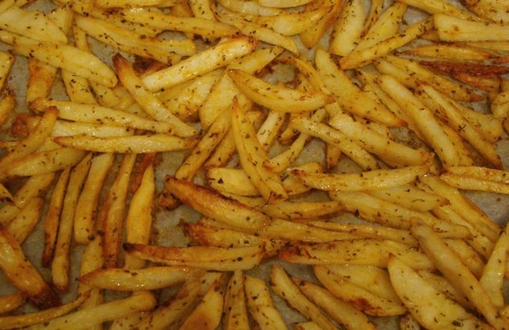 Πατάτες... σαν τηγανιτές!