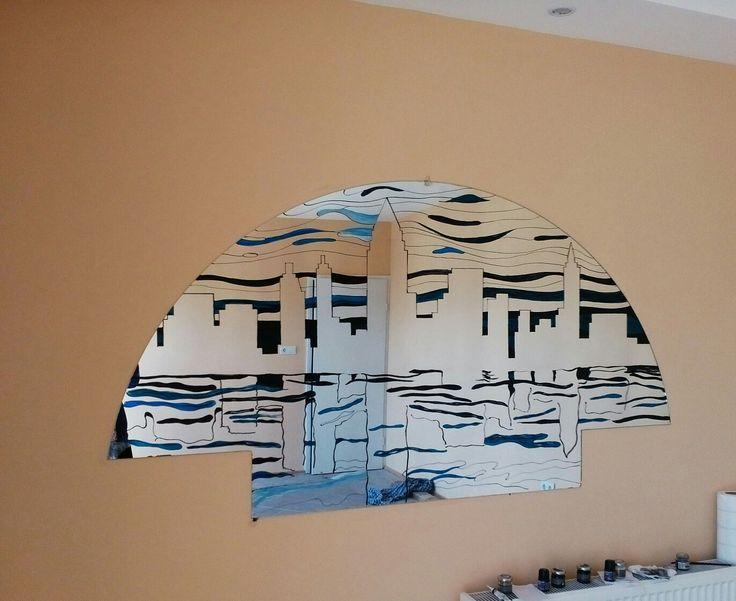 Mirror painting