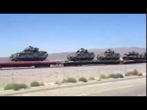 Армия США по тревоге перебрасывает бронетехнику в Европу из-за угрозы вторжения России в Украину.
