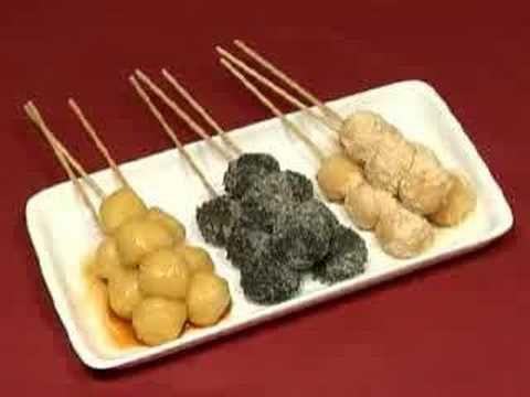 How to Make Skewered Tofu Dango (Japanese Sweet Dumpling Recipe) 豆腐団子 作り...