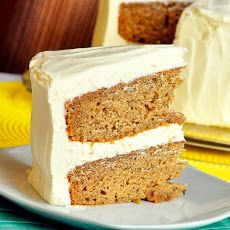 Sticky Toffee Banana Cake with Cream Cheese Frosting