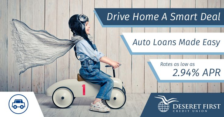 Everyone has a dream car, Deseret First wants to help you drive home your dream car today with a low auto loan!