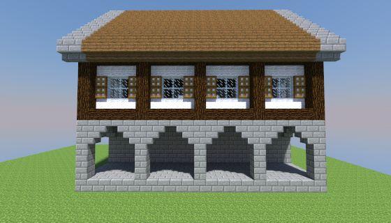 Mcedit Schematic Medium Medieval House