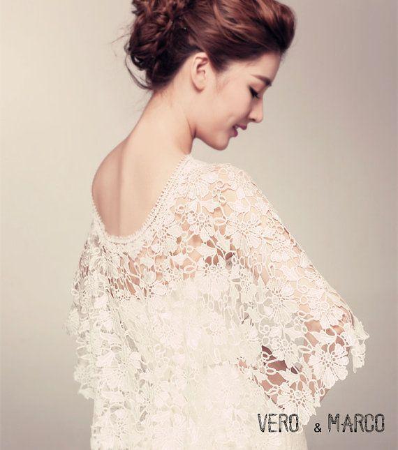 ボレロ\u0026ケープが可愛い♡これからの季節に大注目のウェディングドレスの