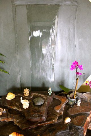 Indoor water features provide a focal point for any room  transforming  55 best Indoor Water Features Fountains images on Pinterest  . Indoor Bedroom Water Fountain. Home Design Ideas