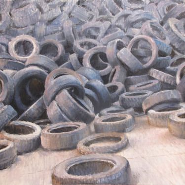 Saatchi Online Artist Andrea Mancini; Painting,  tires