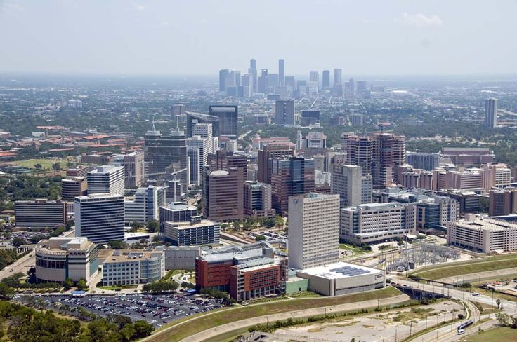 Skyview of the Texas Medical Center.  One of the finest medical complexes in the world!