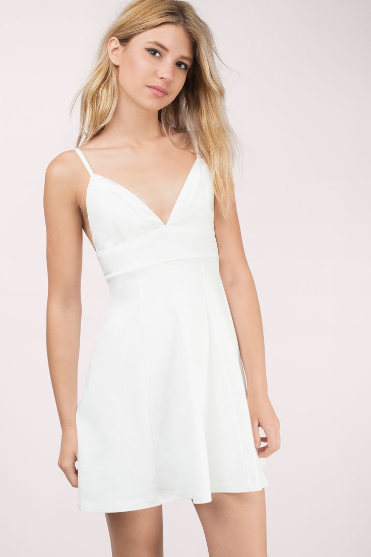 White dress bridal shower - Tripping Out Skater Dress White Dressskater Dressshower Outfitsbridal