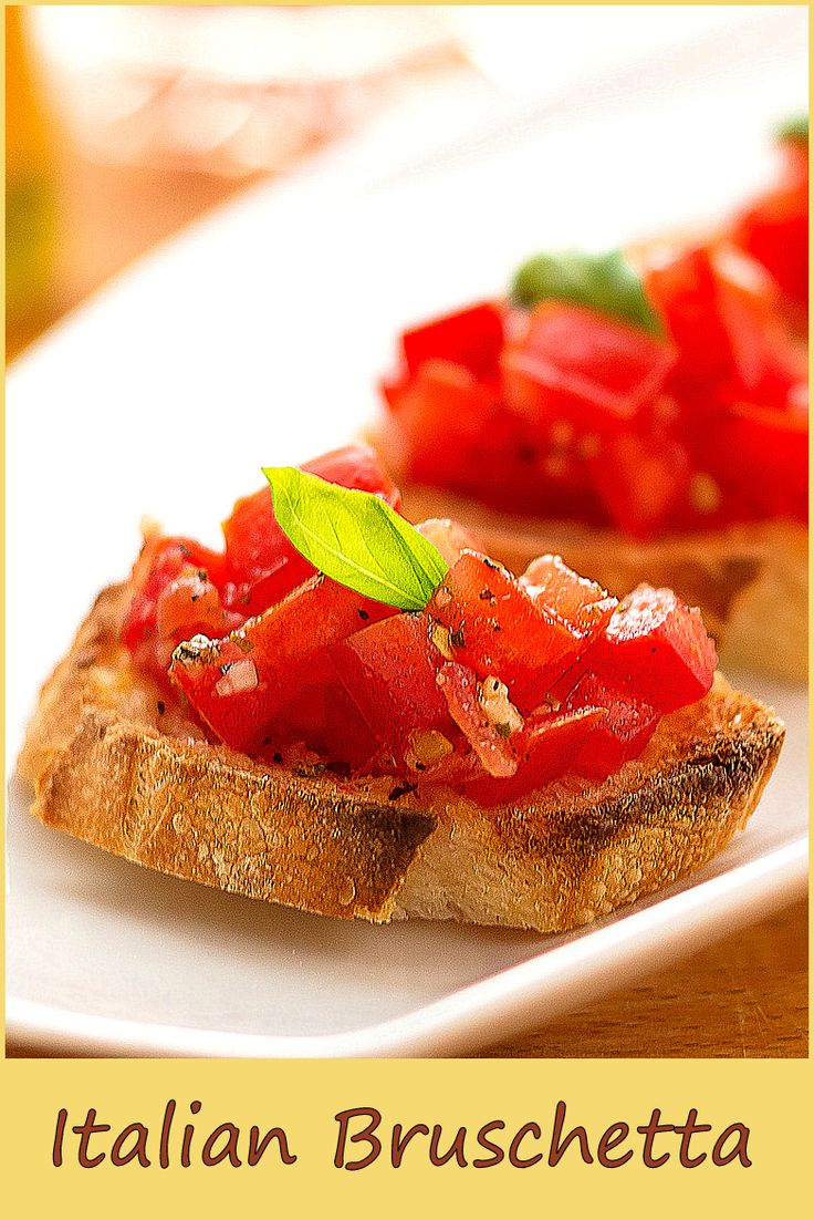 A simple appetizer from Italy...