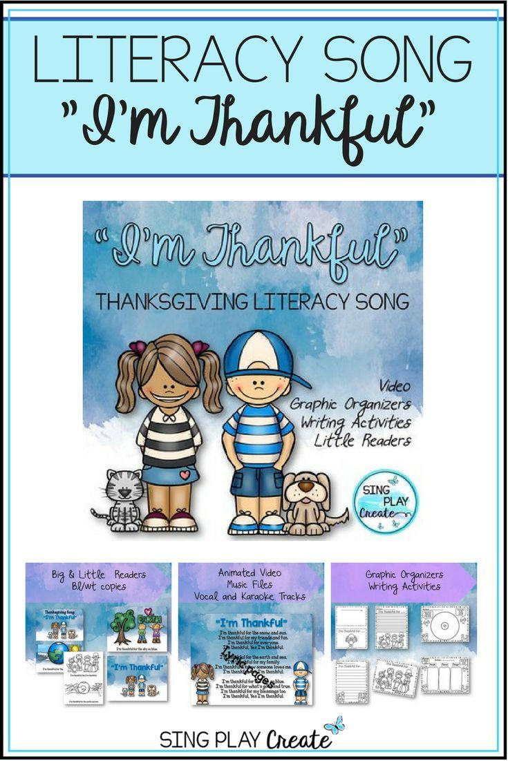 87 best November Elementary Literacy Activities images on Pinterest ...