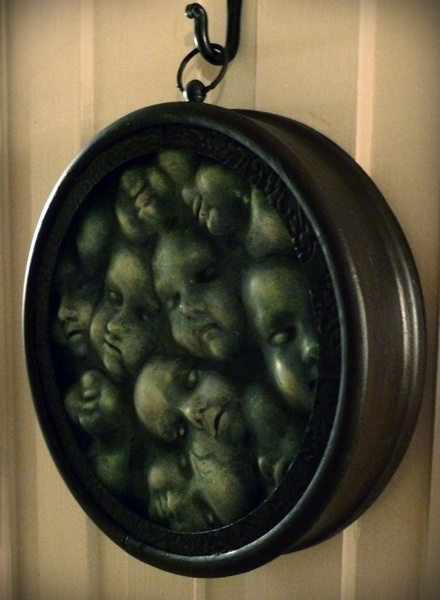 Angelica's clock of dolls!
