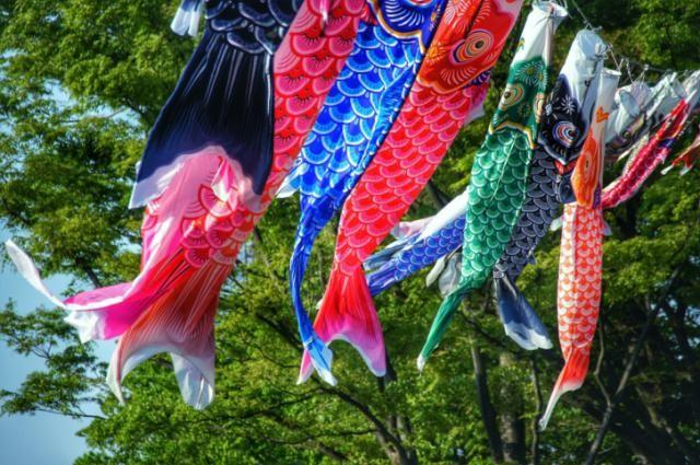 Children's Day in Japan and Koinobori Song: Kazuharu Yamada
