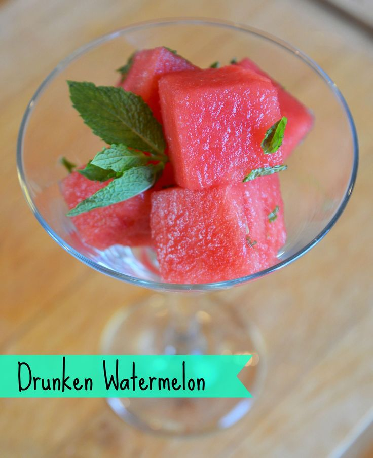 Drunken Watermelon - Fresh, fruity, and fun picnic take along -  from fivetoninecreations.com