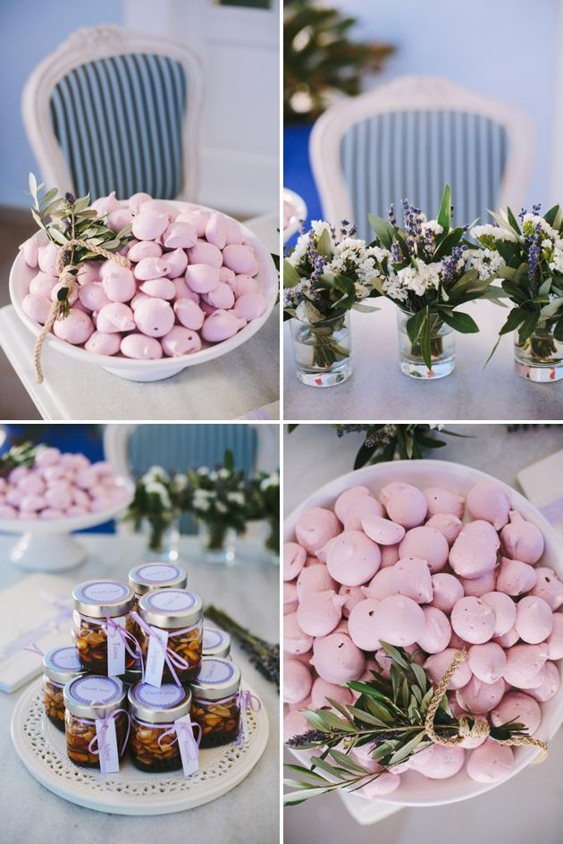 Details! We loved working on this Lavender Inspired wedding in Santorini.  Stella And Moscha - Weddings in Greece . Photographer: Thanos Asfis Photography