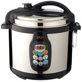 Sinbo Electric Pressure Cooker  I may try to use it, one of these days...