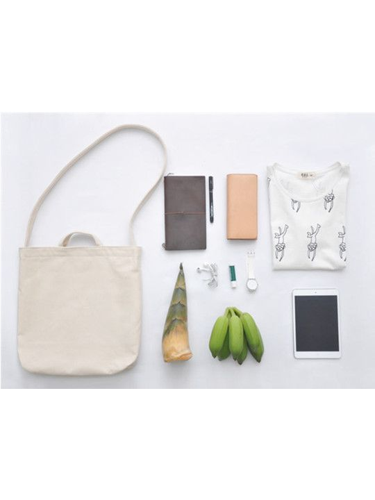 Unisex Canvas Bag – White