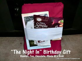 """Running away? I'll help you pack.: Birthday Gift Ideas ... """"The Night In"""" Birthday Gift"""