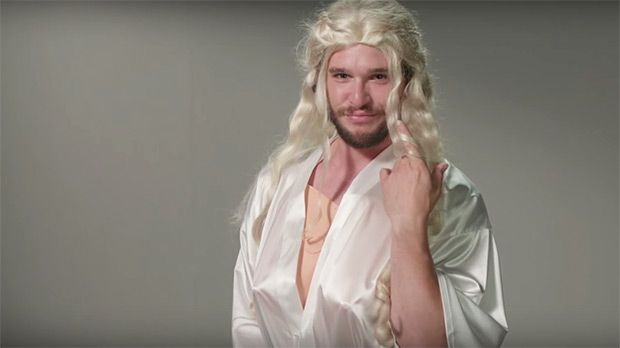 """Kit Harington Slays Daenerys Impression & More In Hilarious 'GoT' Skit — Watch https://tmbw.news/kit-harington-slays-daenerys-impression-more-in-hilarious-got-skit-watch  Kit Harington auditions for almost every single 'Game of Thrones' role in this epic 'Jimmy Kimmel Live' skit. His epic and funny impressions of Daenerys, Cersei, Ygritte, and more will make you LOL so much.Jimmy Kimmel, 49, treated Game of Thrones fans to Kit Harington's """"never-before-seen footage"""" of his auditions for…"""
