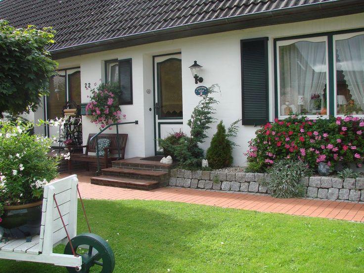 Ferienwohnung Erhart Schwabstedt  - Separater Eingang zur Ferienwohnung
