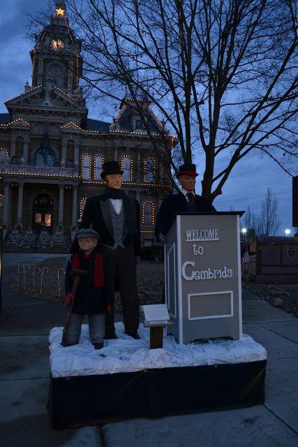 Dickens Victorian Village of Cambridge, OH (Різдвяне місто Чарльза Діккенса - Кембридж, Огайо)