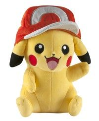 Looks like Pikachu got hold of Ash s hat. This unique 10 inches plush is a must-have for all Pokémon