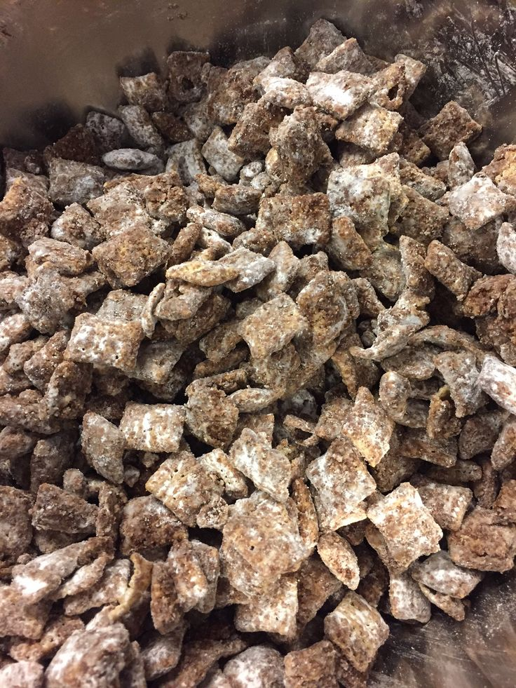 Nutella Chocolate Puppy Chow