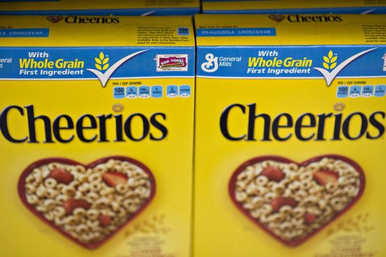 "... General Mills starts making some Cheerios without GMOs ... ""GMO Inside, a campaign that advocates GMO labeling, said Cheerios is the first major brand of packaged food in the U.S. to make the switch from containing GMOs to marketing itself as non-GMO. Some foreign countries have restricted GMO use in food for years."""