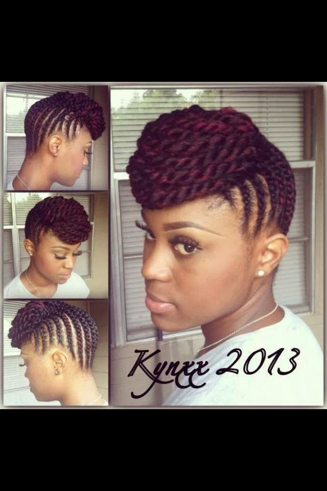 Stupendous 1000 Images About Natural Protective Hairstyles On Pinterest Short Hairstyles For Black Women Fulllsitofus