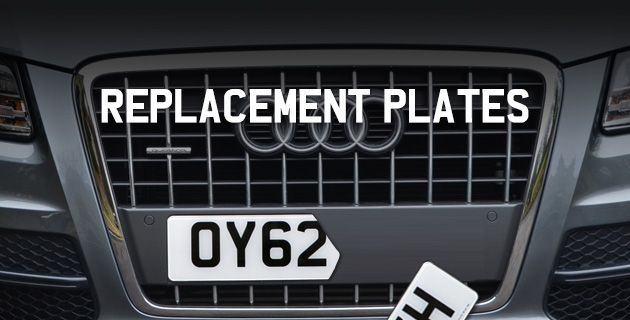 Buy Replacement Number Plates Online | Replacement Registration Plate - gift idea