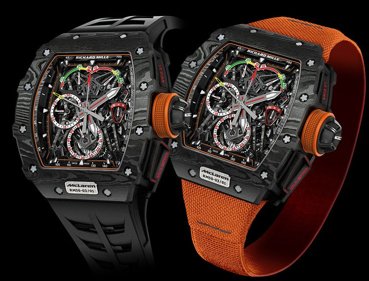 Hands-On with the new Richard Mille RM 50-03 McLaren F1 Record-Setting Lightweight Watch For $1,000,000