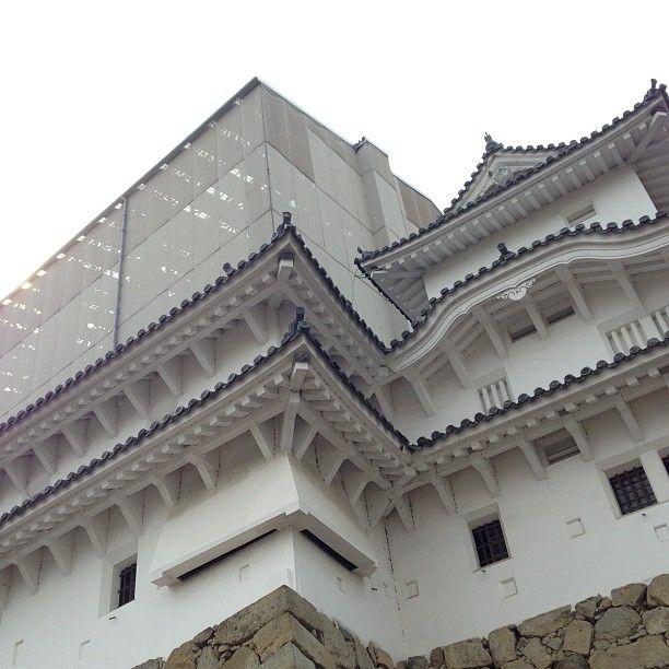 姫路城 (Himeji Castle) , город 姫路市, 兵庫県