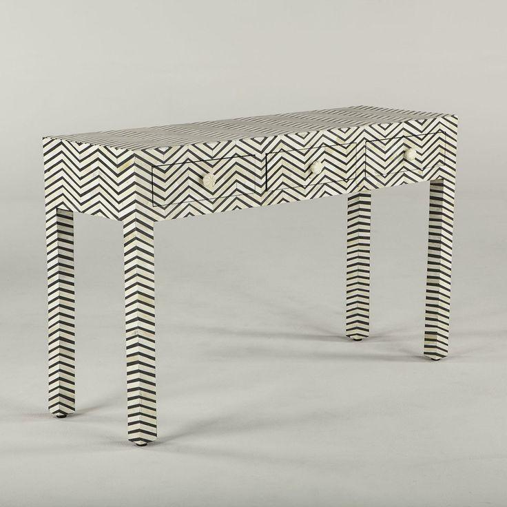 Noir Console Table