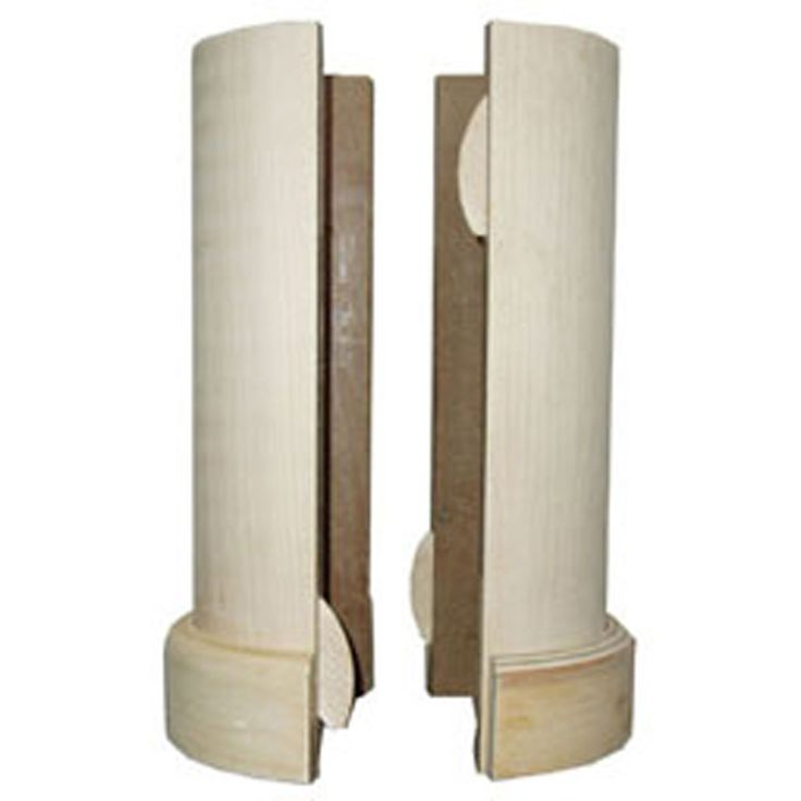 """5 1/2"""" x 96"""" Lally Column Cover, with top"""