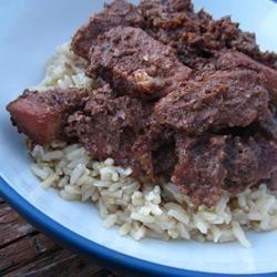 Khorest Fesenjaan (Perzische kip met granaatappelsaus)