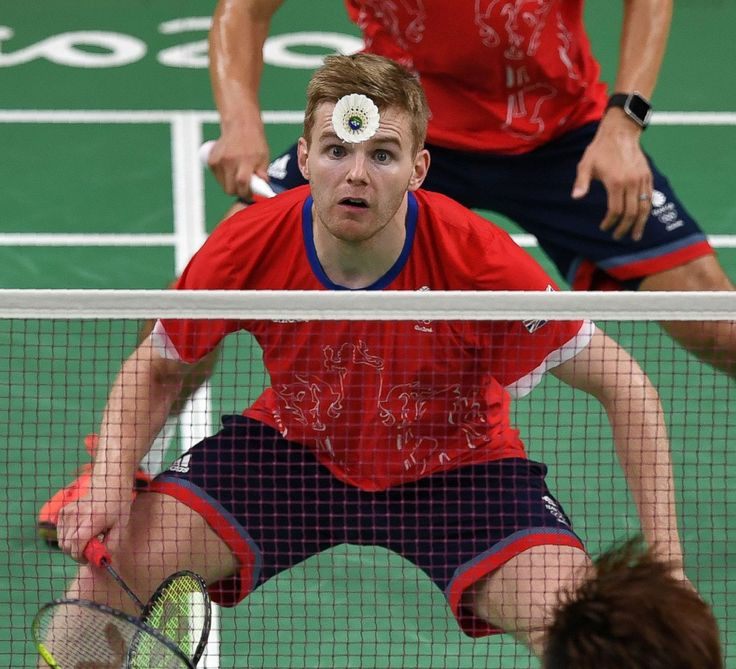 Great Britain's Marcus Ellis in action against the team from South Korea, men's…
