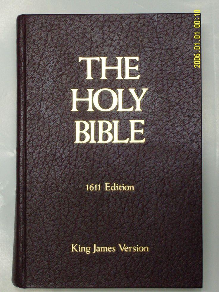 킹제임스성경 1611 버전 실제 사진