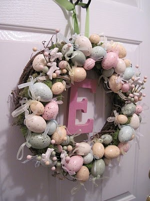 Egg Wreath: Holiday, Decor Crafts, Easter Wreaths, Craft Ideals, Craft Ideas, Egg Wreath, Crafty Ideas