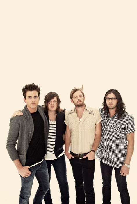 Kings Of Leon - 'Manhattan', 'Pyro', 'The End', 'Be Somebody', 'Closer', 'Frontier City', 'Use Somebody', and 'Revelry'