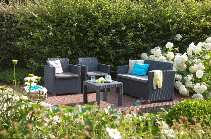 Best Salon De Jardin Allibert Alabama Lounge Set Images ...