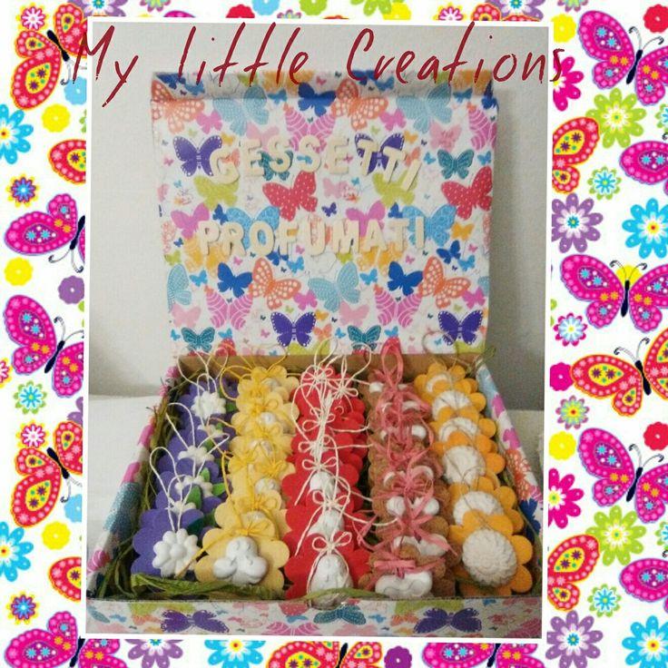 "Gessetti profumati!!!!! Ci trovate anche su facebook ""My Little Creations"" scriveteci..."