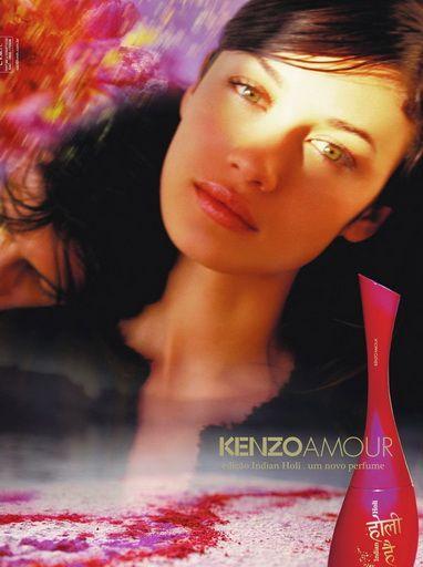Kenzo 'Amour' with Olga Kurylenko