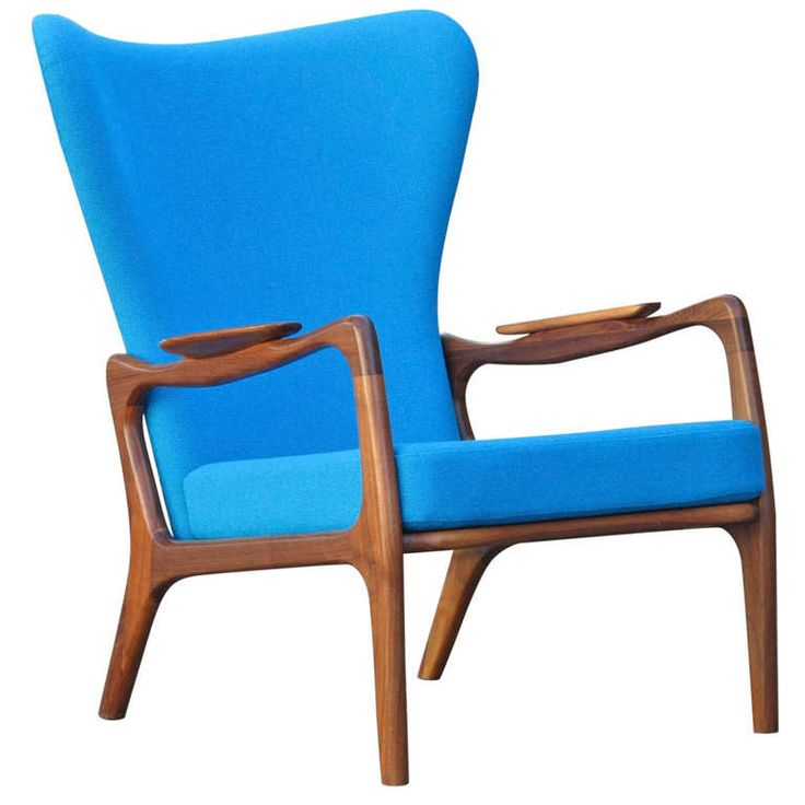 Adrian Pearsall for Craft Associates Lounge Chair | From a unique collection of antique and modern armchairs at http://www.1stdibs.com/furniture/seating/armchairs/