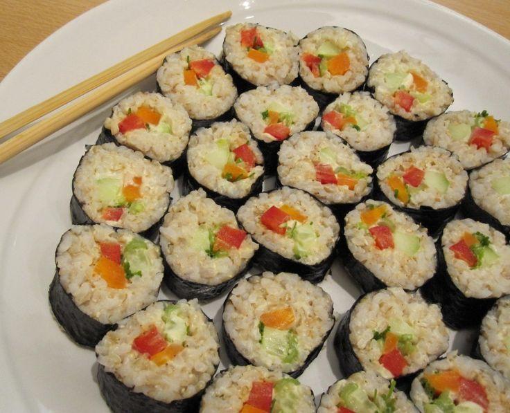 Sushi vegetale | La mia cucina vegetale