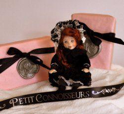 Victorian Girl on Christmas Eve by Sunday Dolls