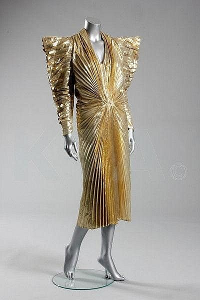 Dress Thierry Mugler, 1987 Kerry Taylor Auctions