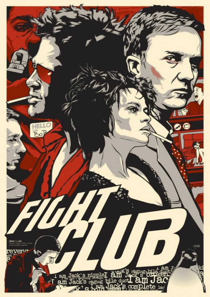 Fight Club Retro Poster