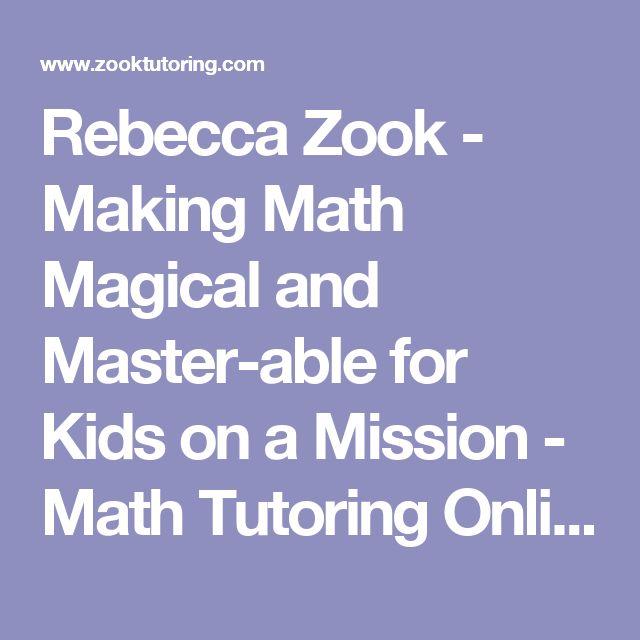 28 best homeschool math images on pinterest homeschool math rebecca zook making math magical and master able for kids on a mission fandeluxe Gallery