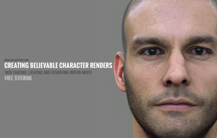 A Free tutorial describing how to create a truly realistic skin shader using Modo.