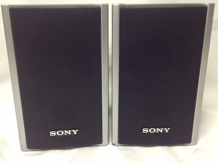 SONY SS-TS80 Pair Left & Right Surround Sound Speakers #Sony